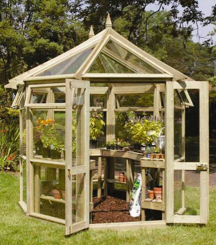 Edwardian Greenhouse