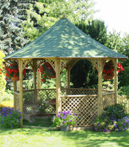 Chopin  Tiled  Gazebo