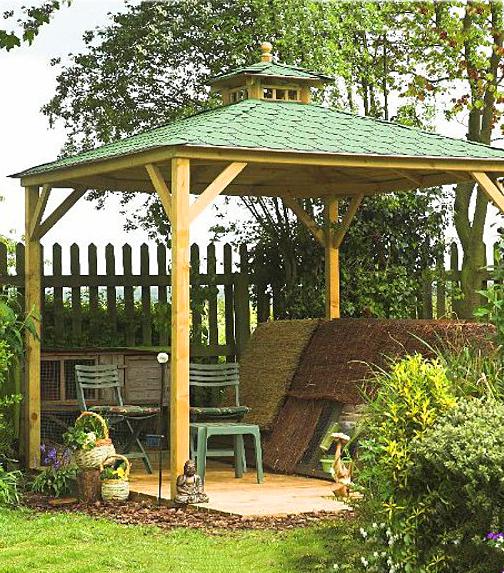 Lindrick Tiled Canopy
